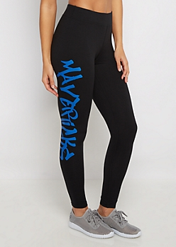 Dallas Mavericks Graffiti Legging