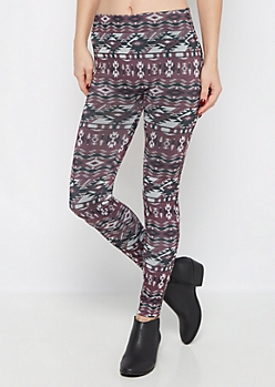 Aztec Fleece Legging