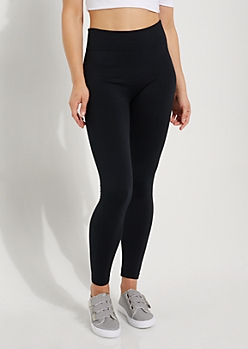 Black Fleece Slimming Legging