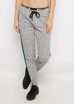 Killin It Layered Space Dye Sweatpant