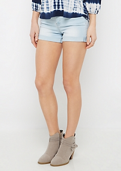Light Blue Vintage Soft Jean Shortie
