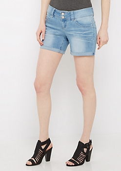 Vintage Better Butt Cuffed Midi Jean Short