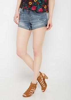 Bleached Vintage Jean Shortie