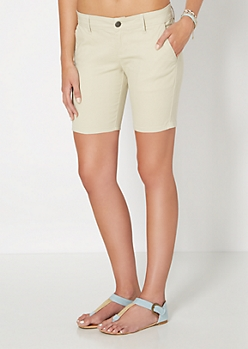 Stone Bermuda Short