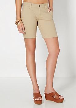 Khaki Bermuda Short