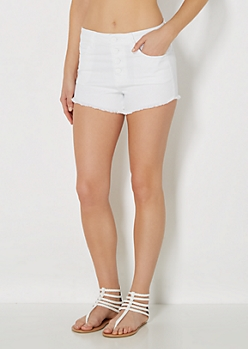 White High Waist Short By Wild Blue x Sadie Robertson