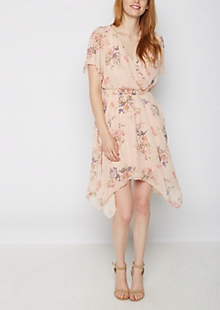 Wildflower Surplice Dress