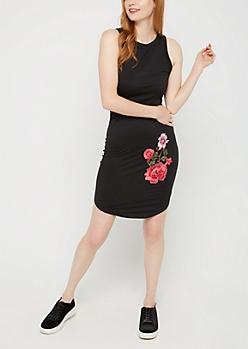 Wildflower Bodycon Tank Top Dress