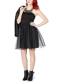 Black Tulle Ballerina Dress
