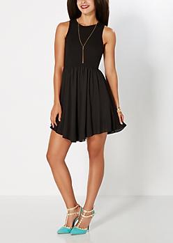 Black Sweet Whispers Dress