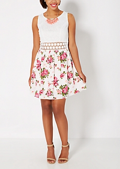 Rosy Illusion Sundress