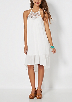 Halter Crochet Dress by Coco + Jameson®