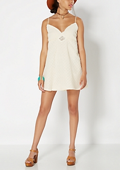 Lace Medallion Cami Dress by Hint of Mint®