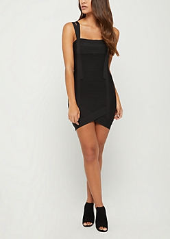 Black Bandage Mini Dress