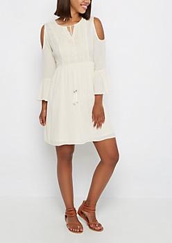 Ivory Boho Dress by Sadie Robertson x Wild Blue™