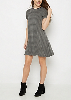 Striped Swing Dress By Sadie Robertson X Wild Blue