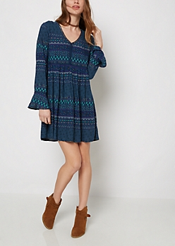 Tribal Peasant Dress by Sadie Robertson x Wild Blue