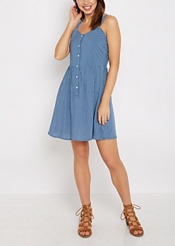 Dotty Sweetheart Tank Dress by Sadie Robertson x Wild Blue