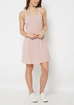 Pink Sweetheart Tank Dress by Sadie Robertson x Wild Blue