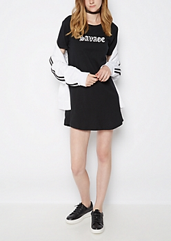 Savage T Shirt Dress