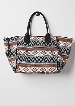 Southwest Canvas Overnight Bag