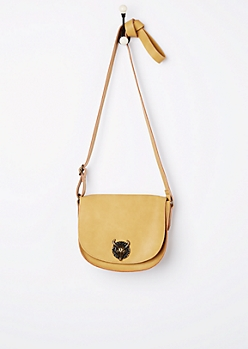 Mustard Desert Steer Saddle Bag