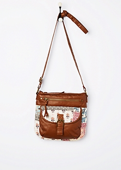Vintage Folklore Crossbody Bag