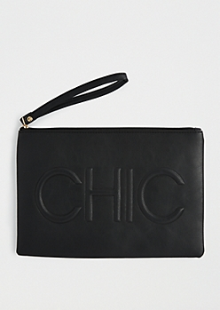 Chic Oversized Clutch