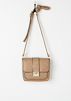 Buckled Crossbody Bag