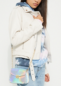 Holographic Mini Crossbody Bag