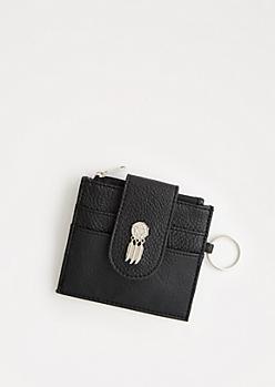 Black Dreamcatcher Small Wallet