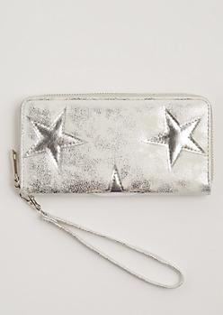 Silver Star Wristlet