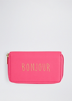Bonjour Zip Wallet By T-Shirt & Jeans®