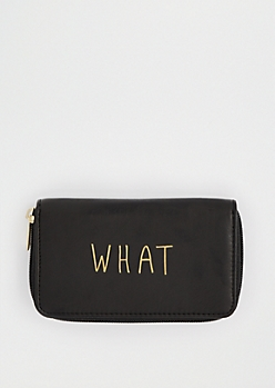 What Ever Zip Wallet By T-Shirt & Jeans®