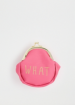 Whatever Coin Purse By T-Shirt & Jeans®