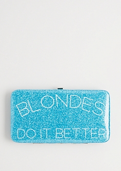 Blondes Do It Better Hinged Wallet