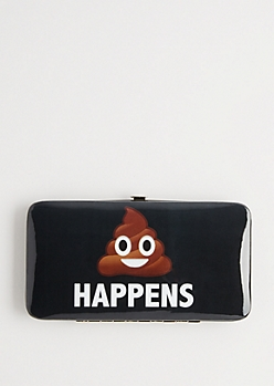 Cute Happens Hinged Wallet