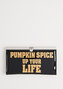 Pumpkin Spice Accordion Wallet