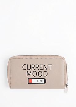 Current Mood Zip Wallet