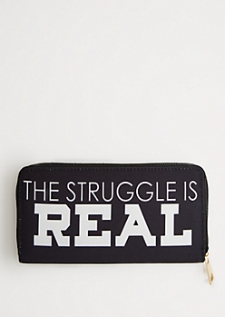 The Struggle Is Real Wallet
