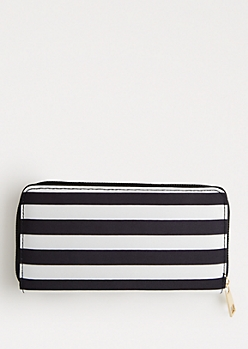 Dotted & Striped Wallet