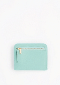 Mint Mini Snap Wallet