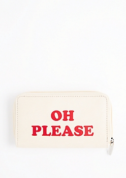 Oh Please Zip Wallet