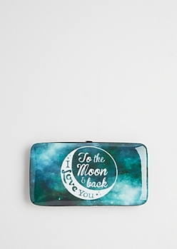 Galaxy Love Hinged Wallet