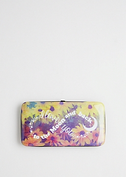Daisy Love Hinged Wallet