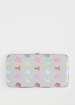 Elephant Party Hinged Wallet