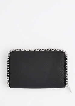 Chain Link Border Wallet