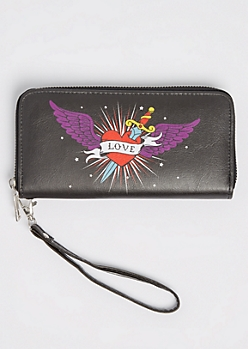 Tattoo Love Wristlet