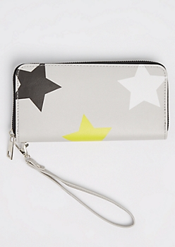Multi Star Zip Wristlet