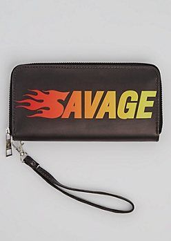 Savage Flame Wristlet